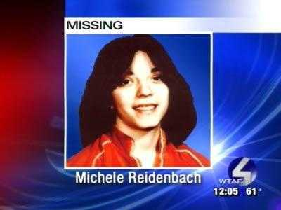 Michele Reidenbach was 16 when she went missing from Zelienople, Butler County, on Sept. 22, 1981. Her case is classified as a non-family abduction. She was last seen at her job after school. She left to go to the store a half block away and never returned.