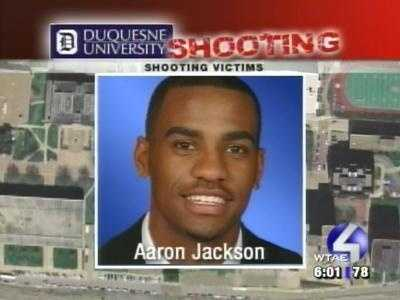 The fifth victim, Aaron Jackson, suffered a hand wound and did not miss any games that season.