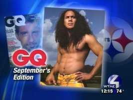 Troy Polamalu in GQ.