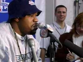 "Jan. 25, 2006: Jerramy Stevens lays some smack on Jerome Bettis during Super Bowl week, so Joey Porter calls Stevens ""a first-round bust"" and says he's ""too soft"" to talk trash. (We all know how the game turned out.)"