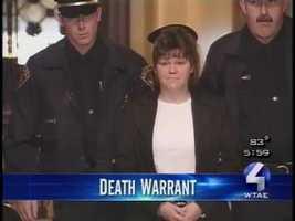 Michelle Sue Tharp: Sentenced in 2000 for killing Tausha Lee Lanham in Washington County.