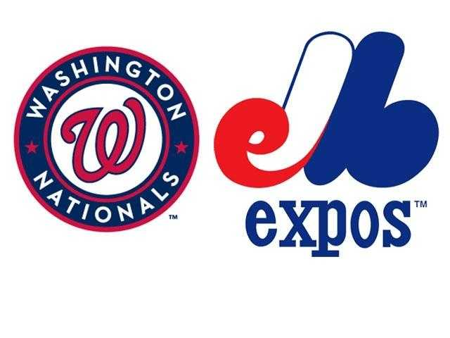 The Washington Nationals didn't exist either. They were still playing in Canada as the Montreal Expos.