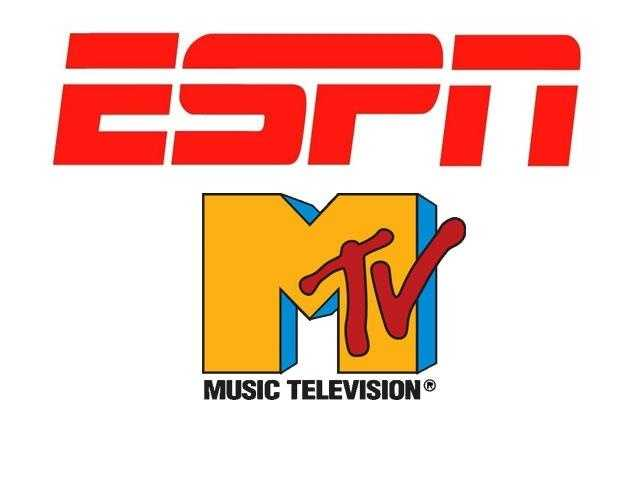 There was only one ESPN and one MTV.