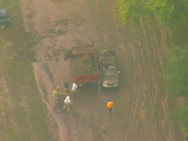 Other people who got stuck in the flooding near Allegheny River Boulevard were rescued from their cars by emergency responders and given blankets to dry off.