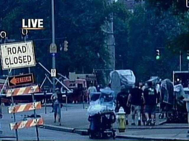 "Some streets in Oakland were closed during the shooting of ""The Dark Knight Rises."""