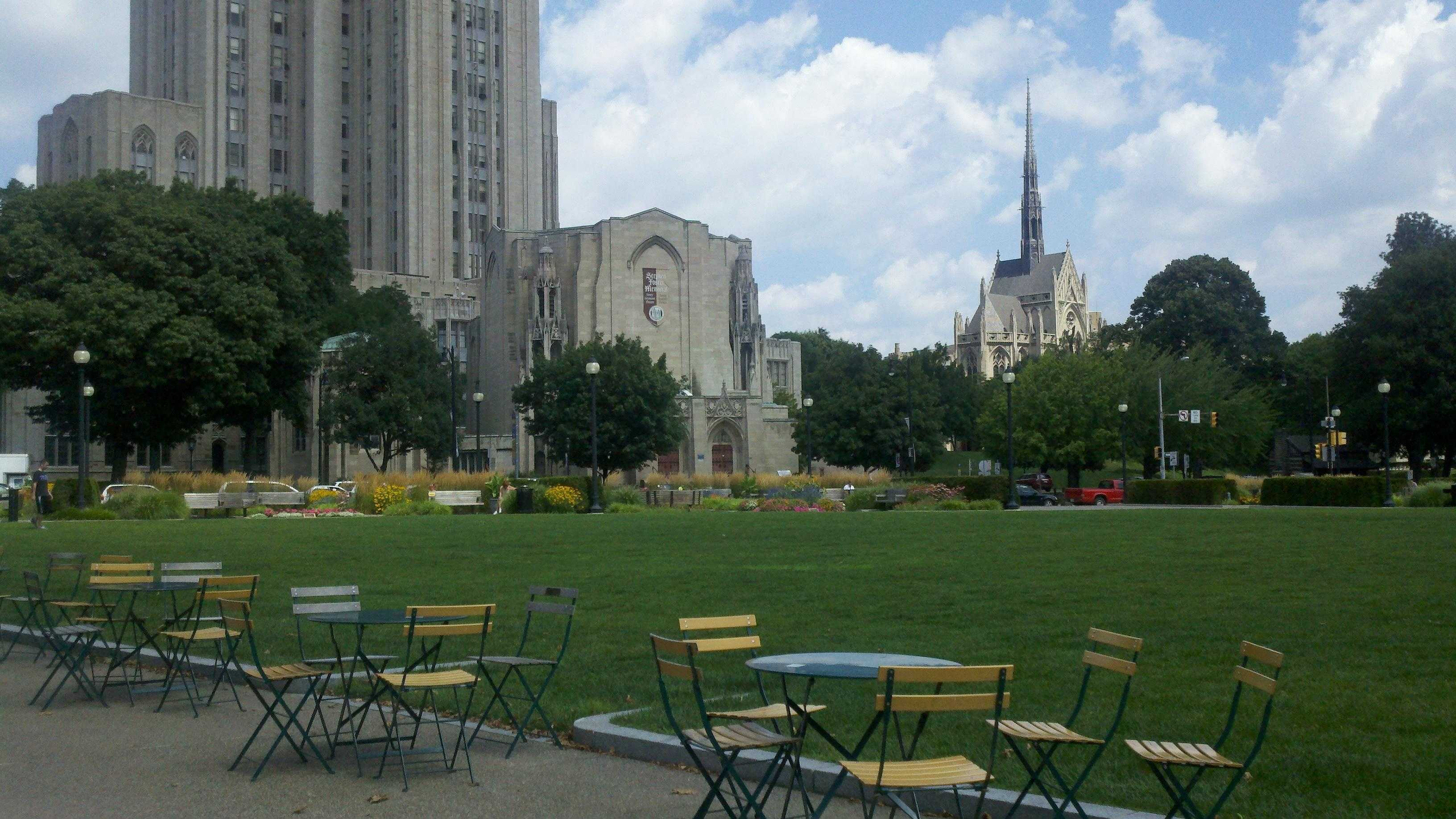 University of Pittsburgh campus in Oakland