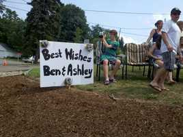 The Zierenberg family sends best wishes. They live a few hundred yards from the church.