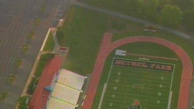 The Bethel Park football field