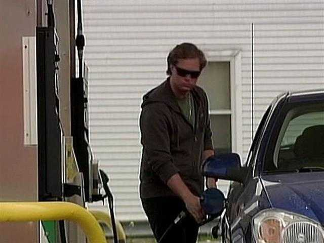 A gallon of regular gas cost just over $1.