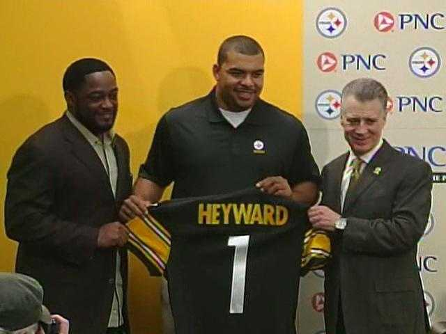 2011: The Steelers chose Cameron Heyward with the No. 31 pick in the first round of the NFL Draft.