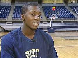Pitt senior guard Tray Woodall