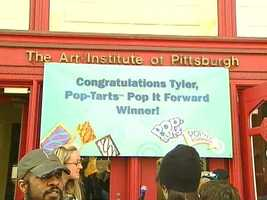 A pop-art proposal nabbed a Pittsburgh graphic design student 1 million Pop-Tarts.
