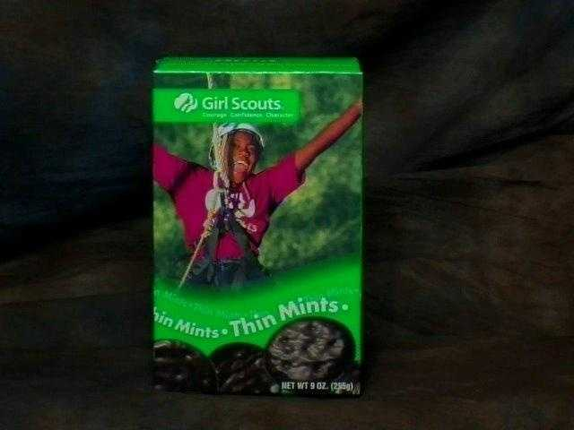 Thin Mints are a popular treat from the Girl Scouts. (Some people enjoy them frozen.) They clock in at 40 calories each.