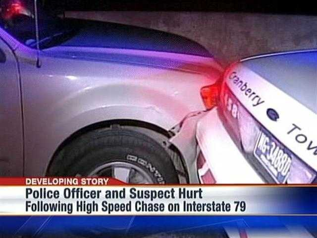 OFFICER AND SUSPECT HURT