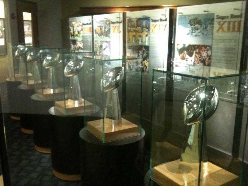 Super Bowl trophies