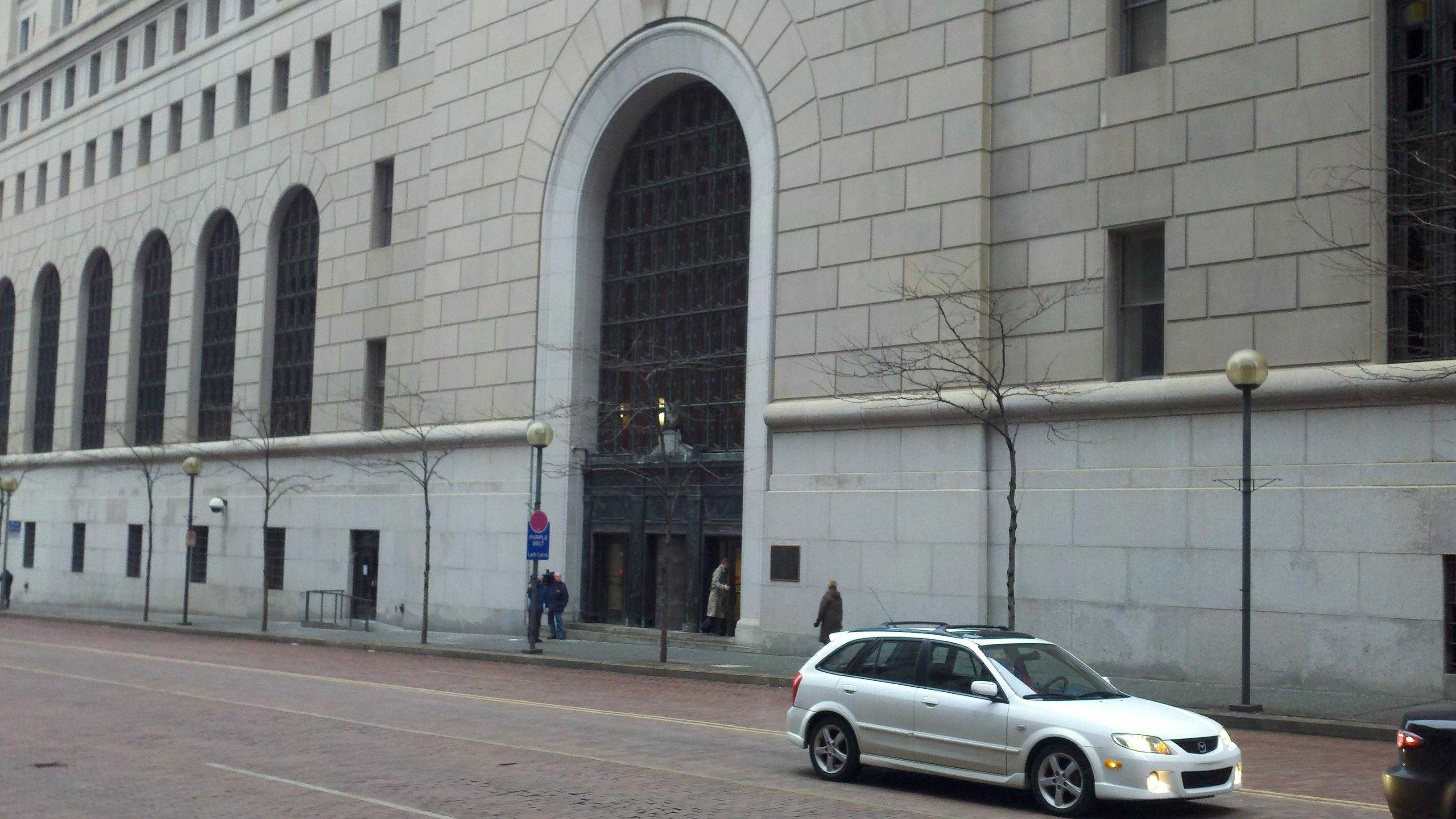Federal courthouse in downtown Pittsburgh