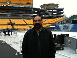 Franco Harris and Jerome Bettis will be part of the opening ceremonies at the Winter Classic on Saturday, with Mario Lemieux. Then, at the first intermission, Bettis and Franco will shoot pucks at the net. For every one that goes in, they will donate money to inner city youth hockey programs.
