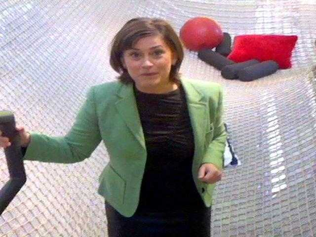 Michelle Wright took a tour of the new Google Pittsburgh and tried out their office trapeze.Click here to watch the video.