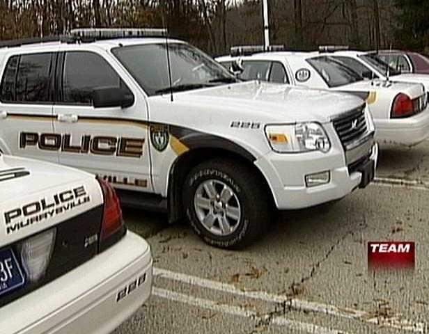 Murrysville police vehicles