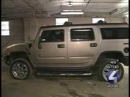 Witnesses said Paul Spadafora and then-girlfriend Nadine Russo argued over two flat tires on the boxer's Hummer on Oct. 26, 2003.