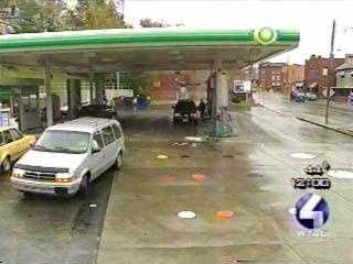A few minutes later, Russo was shot at a BP gas station on Island Avenue in McKees Rocks.