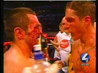 """Spaddy"" is an undefeated former world champion. His biggest fight was a bloody 2003 draw with Leonard Dorin at Petersen Events Center. It aired live on HBO."