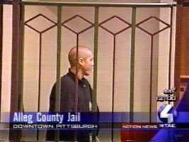 """""""Spaddy,"""" as he's known around Pittsburgh, was arraigned before a Night Court judge at the jail."""