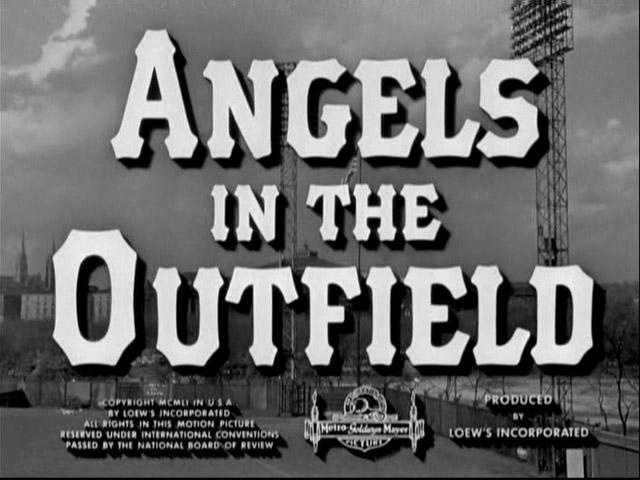 """Angels in the Outfield"" (1951) -- Here's a situation Pittsburgh baseball fans can relate to: The Pirates were in last place, and the team needed a miracle. And that miracle was provided ... not by Andrew McCutchen, but thanks to some heavenly assistance. (Which, of course, can only be witnessed by an adorable moppet. Did we mention she was an orphan? Awwww.)"