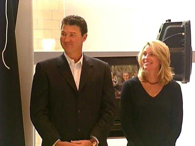 Mario and Nathalie Lemieux