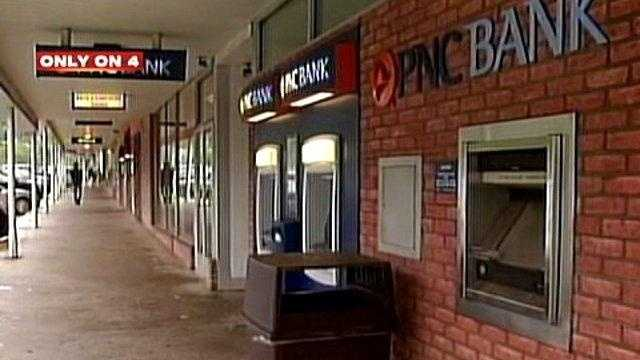PNC Bank in Virginia Manor shopping plaza in Mt. Lebanon.