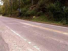 Adam Lewis was injured but survived the crash on Mifflin Road.