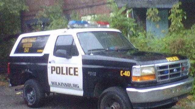 Wilkinsburg police truck