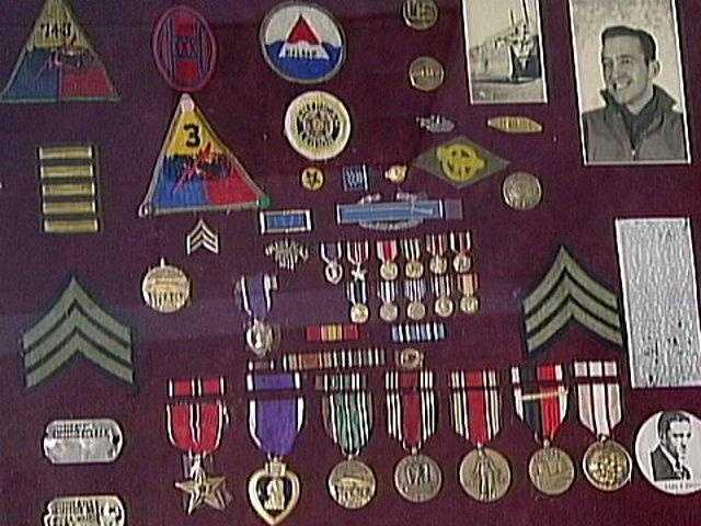 Earl Dhanse's medals