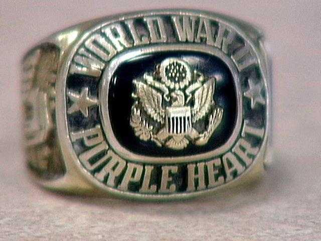 Earl Dhanse's World War II ring