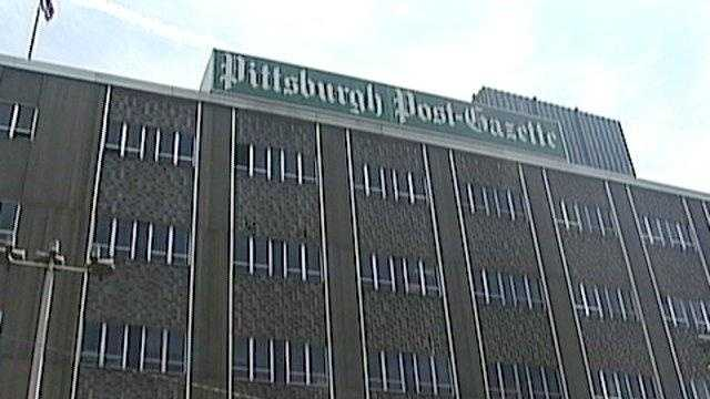 The Pittsburgh Post-Gazette offices.