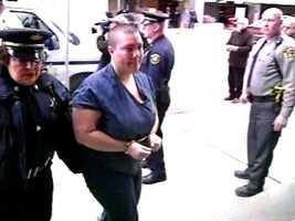 Amber Meidinger gave testimony against Ricky Smyrnes, Melvin Knight and Angela Marinucci.