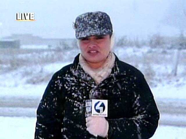 Ashlie Hardway reports on the snowfall in the Meadow Lands area of Washington County