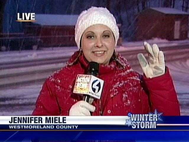 Jennifer Miele reports from East Pittsburgh Street in Greensburg, Westmoreland County