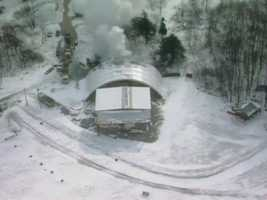 The Church of Universal Love and Music caught fire in Bullskin Township in January 2010.