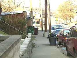 The incident happened on Tioga Street in Homewood, as Jordan Miles was walking to his grandmother's house at night.