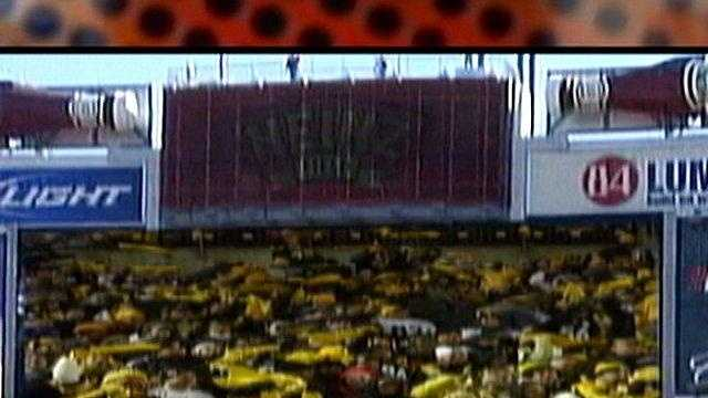 Heinz Field video scoreboard