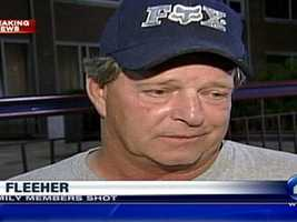 Ron Fleeher told WTAE Channel 4 Action News that the gunman held down his niece before shooting her.
