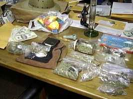 Drugs seized at the Church of Universal Love and Music in Bullskin Township