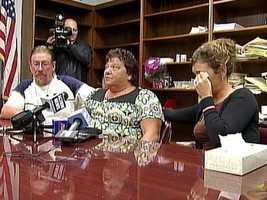 Kenzie Houk's family