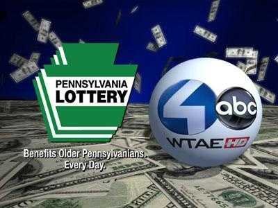 WTAE-TV Channel 4 televises the Pennsylvania Lottery drawings.