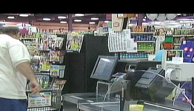 Giant Eagle self-checkout