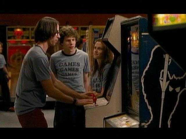 """Adventureland"" (2009) - Kennywood Park has a starring role in this coming-of-age love story with Jesse Eisenberg, Kristen Stewart and Ryan Reynolds. (Fun fact: The crew often had to hide winter snowfall to create a summer amusement park setting.)"