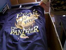"""""""Fear the Panther"""" Pitt Basketball T-Shirt"""