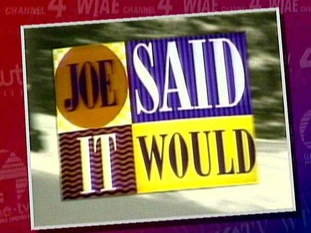 """It's the weather phrase that Pittsburghers knew for years.Click here to watch the video for the """"Joe Said It Would"""" song."""