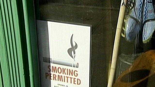 Smoking ban exemption